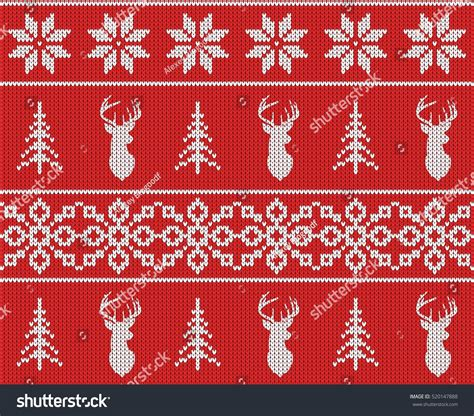 pattern red winter clothes horde scandinavian christmas winter seamless knitted pattern