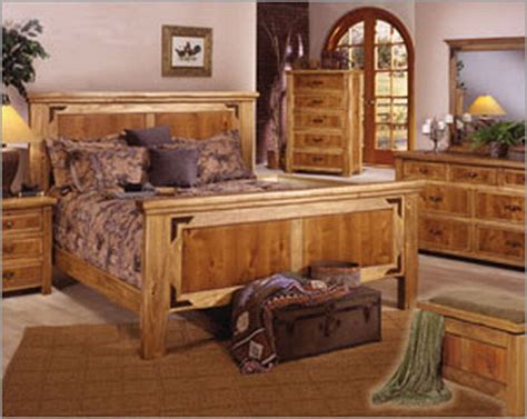 classic rustic pine bedroom accessories theme design and