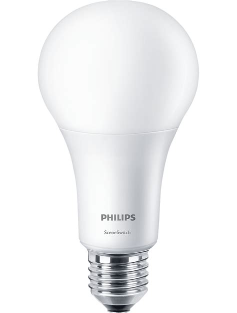 Switching To Led Light Bulbs Led Switch 100w A67 E27 Ww Fr Nd 1srt4 Sceneswitch Led Ls Philips Lighting