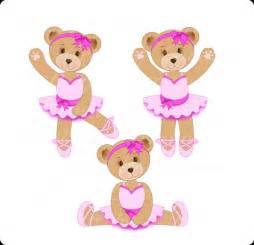 Baby Wall Stickers For Nursery ursinha bailarina clip arte urso arte digital by