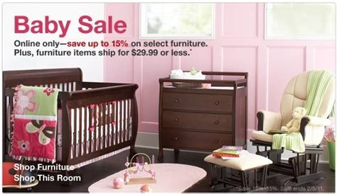 Baby Cribs Target Stores by Shop And Save At Target S Semi Annual Baby Sale