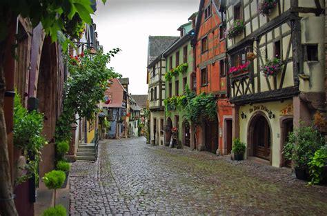 Alsace France by Riquewihr Elsass Menschenleer Youtube