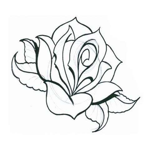 free rose tattoo designs to print 24 best designs printable images on