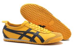 yellow black onitsuka tiger mexico 66 dl408 0490 new shoes
