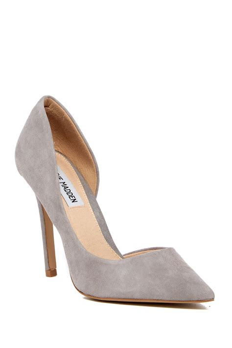 Steve Madden Pumps by Lyst Steve Madden Felicity Pointed Toe In Gray