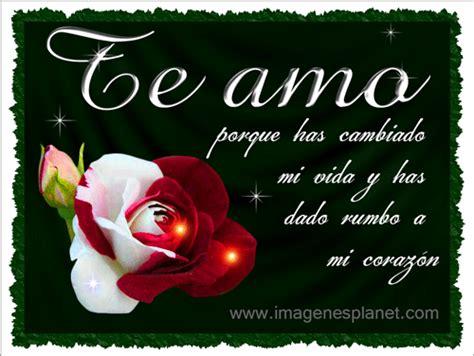 imagenes en movimiento te amo te amo con imagenes muy bonitas de rosas animadas en