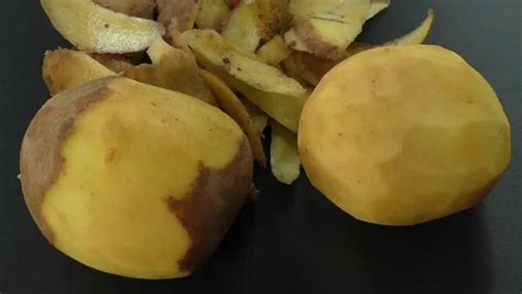 Potato Means by Potato Peel Definition Meaning