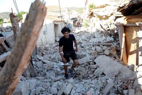 Earthquake Greece | earthquake rattles turkey greek island of lesbos with