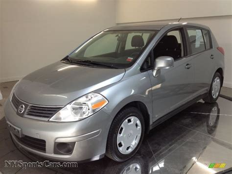 grey nissan versa 2008 nissan versa 1 8 sl hatchback in magnetic gray