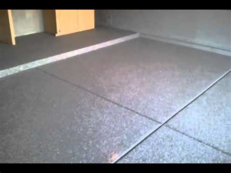 Paint Chip Epoxy Garage Floor Coating Charcoal Color In