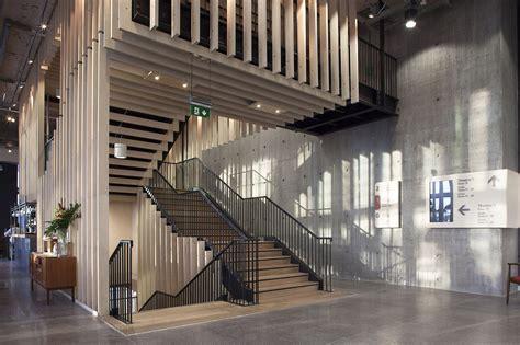 gallery of home arts center mecanoo concrete 4