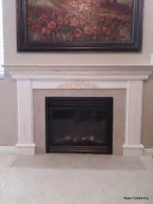 fireplace mantel apex carpentry
