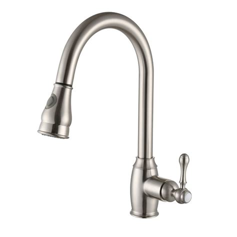 kitchen tap faucet rolya rubbed bronze nickle brushed pull out kitchen