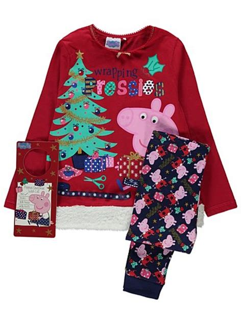 Piyama Peppa Pig by Peppa Pig Pyjamas George At Asda