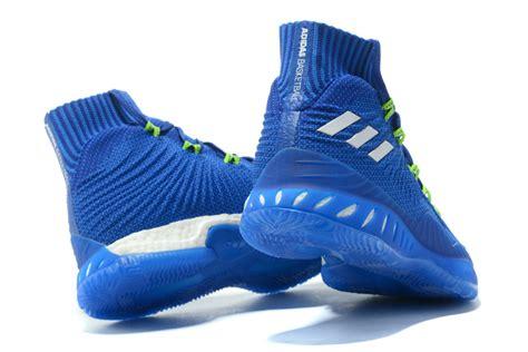 style adidas explosive 2017 primeknit white royal blue s athletic sport