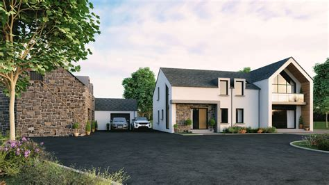 Northern Ireland Contemporary Self Builds Google Search Exterior House Styles