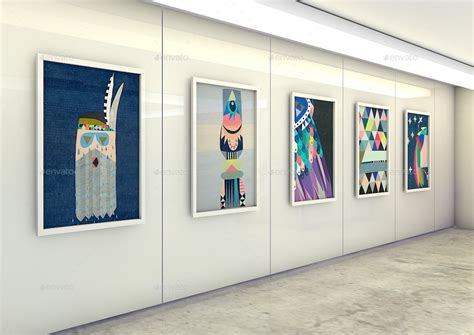 mock up art design office studio art gallery photography mock up by mock