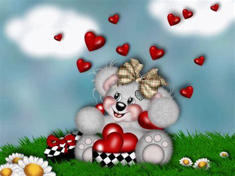 imagenes de amor con ositos animados 7 im 225 genes de osos tiernos en movimiento