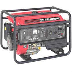 Mitsubishi Generators Mitsubishi 5 000 Watt Professional Generator Mitsubishi