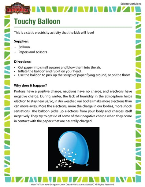 printable science games touchy balloon activity cool science printable for