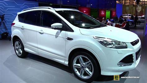 ford kuga 2014 interior 2015 ford kuga exterior and interior walkaround 2014