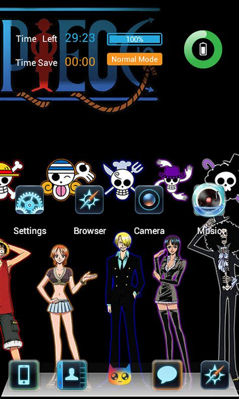 download theme line one piece android one piece theme free android theme download download the