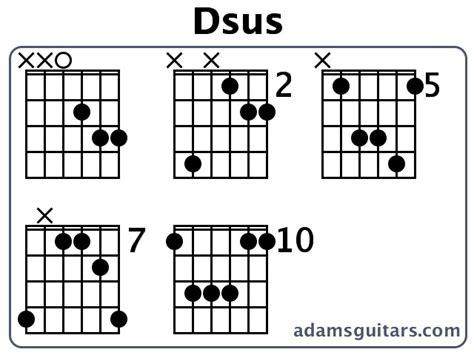 Guitar Chords Dsus