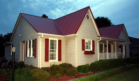 Metal Roof House Color Combinations by Roof House Izard Herman Houses