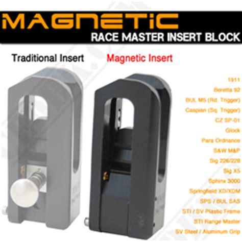 double alpha race master / alpha x holster blocks