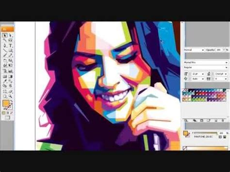 tutorial efek wpap dengan photoshop tutorial wpap youtube
