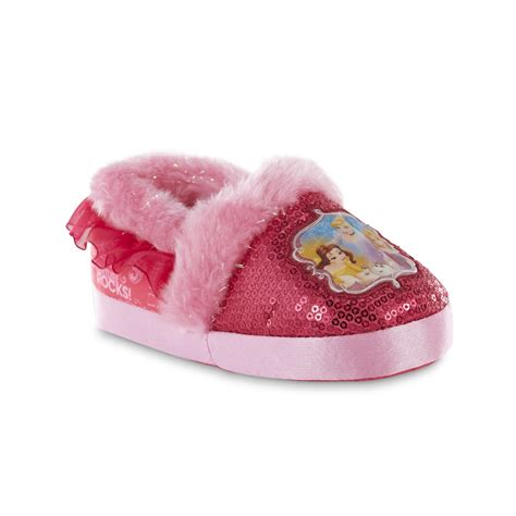 princess slippers for toddlers disney toddler princess pink slipper shop your