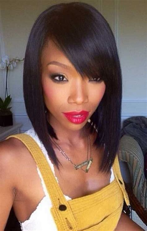 brandy old hair style photos 25 short bob haircut with bangs short hairstyles 2017