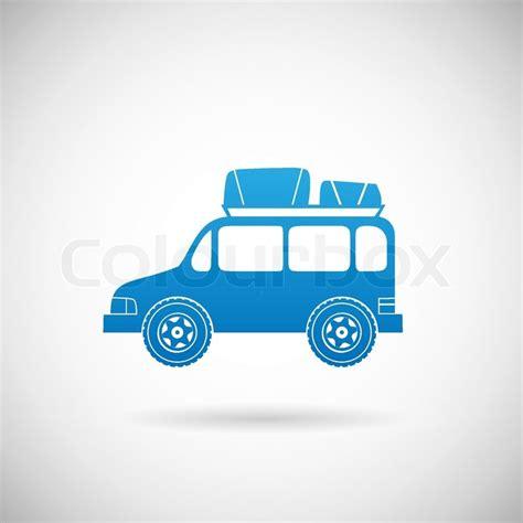 Auto Design Vorlage Auto Reisen Symbol Auto Symbol Design Vorlage Vektor