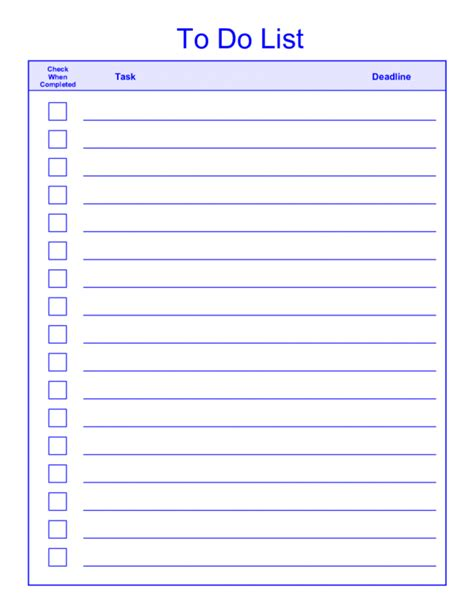 cool printable to do list do list template well picture templates printable