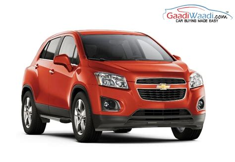 chevrolet india chevrolet trax india launch expected in 2016