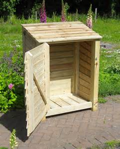 Small Wood Storage Shed Rustic Wooden Garden Store Small Shed Wowthankyou Co Uk