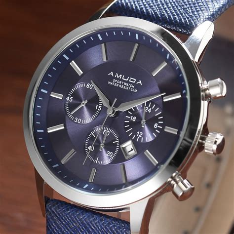 designers watch amuda 2016 mens watches top brand luxury quartz watch with