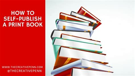 How To Self Publish A Print Book The Creative Penn How To Self Publish On Using A Book Template