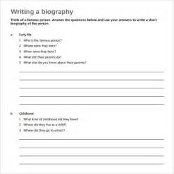 biography timeline templates 7 free samples examples
