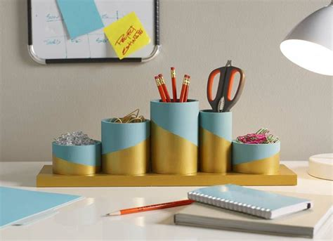 diy desk organizers 1001 images for diy s day gift ideas including