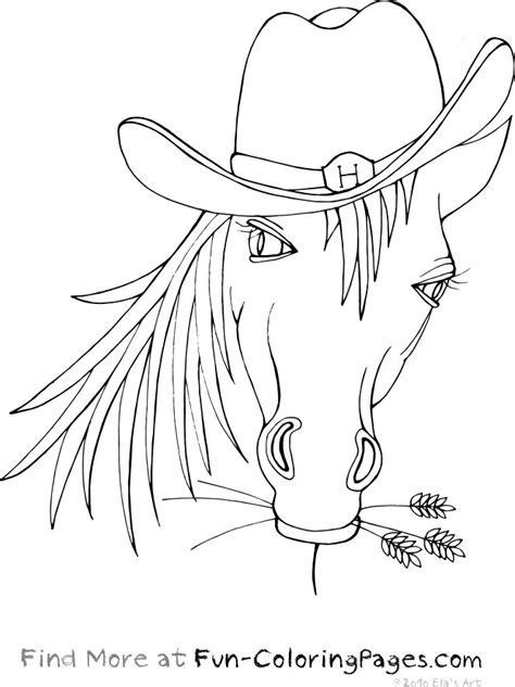 coloring pages of horses heads free coloring pages of heads