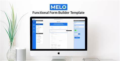 download themes builder melo builder form builder interface html template
