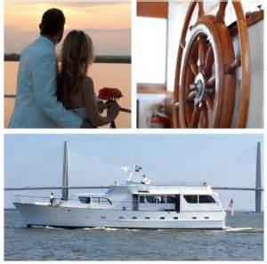 wedding boat rental charleston sc southern drawl yacht charters weddings wedding on a boat