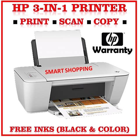 Printer Scan Copy hp printer deskjet 1510 copy print scan all in one d1510 free color and black ink cartridges