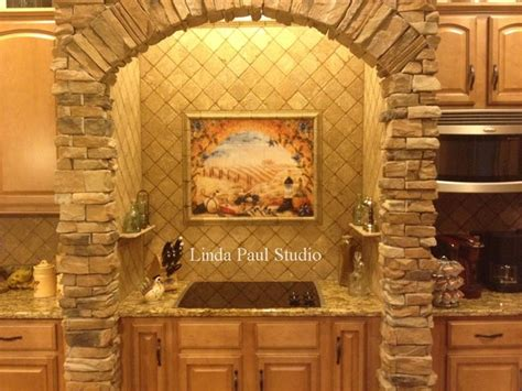 mediterranean kitchen backsplash ideas tuscan kitchen tile murals mediterranean kitchen