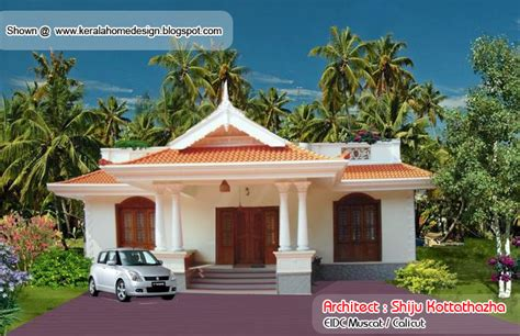 house plan in kerala style with photos kerala style single floor house plan 1155 sq ft