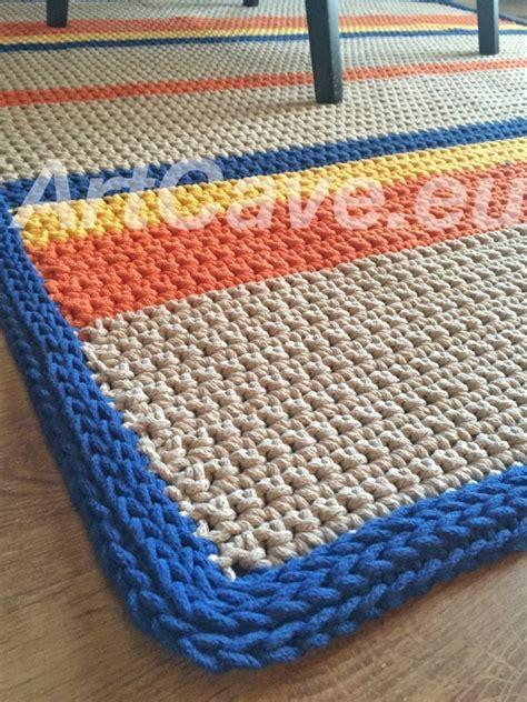 cotton rope crochet rug crochet rope rug rugs ideas