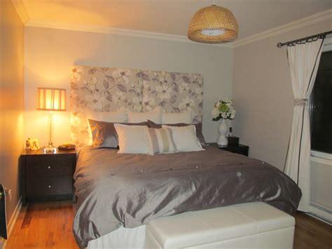 benjamin moore revere pewter bedroom traditional bedroom with floral headboard