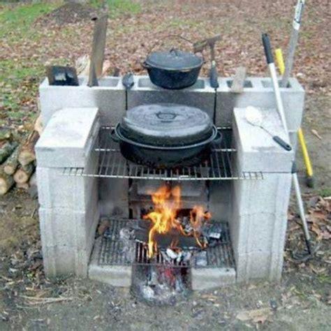 How To Build An Outdoor Wood Burning Fireplace - 15 creativas ideas para tu jardin con bloques de cemento