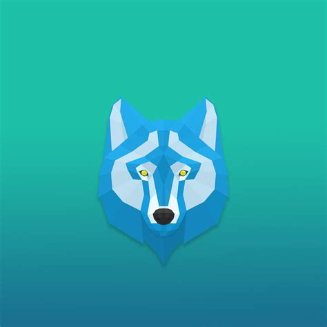 ice wolf ipad wallpaper  wildproject  deviantart